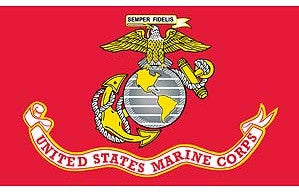 Flags: USMC 3′ x 5′ Flag USA MADE