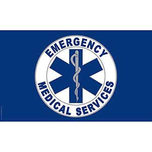 Flags: EMS 3′ x 5′ Flag