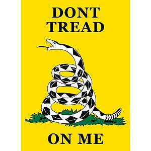 "BANNER-DONT TREAD ON ME (29""x 42-1/2"")"