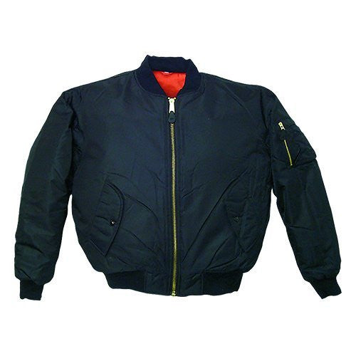 Fox Outdoor Products Ma-1 Flight Jacket, Black
