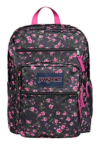Jansport Big Student Lipstick Pink Tea Rose Ditzy