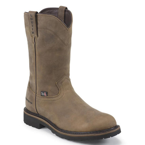 "Justin Boots: Men's Wyoming 10"" Waterproof Work Boots"