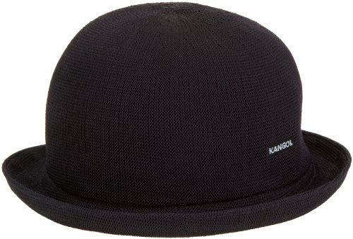 Kangol Mens: Tropic Bombin Derby Hat - Black