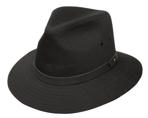 Dobbs Gable Safari Hat Black
