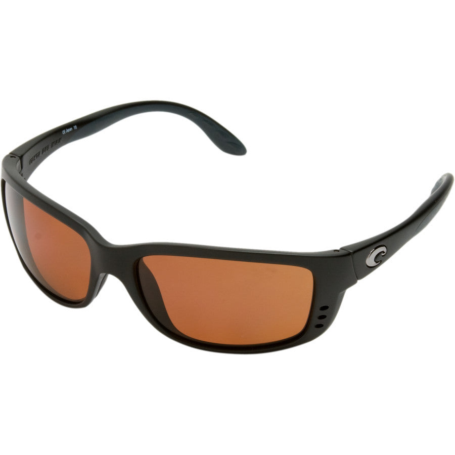 Costa Del Mar Zane Polarized, Black, Copper 580p Lens