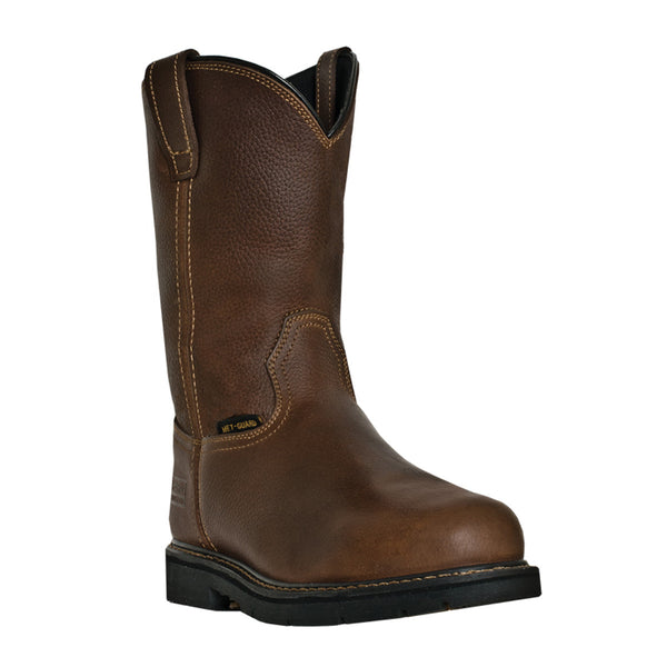 "McRae: Men's 11"" Met Guard Steel Toe Work Boots"