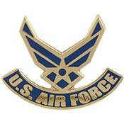 "Pins: USAF - Air Force SYMBOL II (1"")"