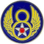 "Pins: USAF - Air Force,008TH (MINI) (3/4"")"