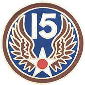 "Pins: USAF - Air Force, 015TH (1"")"