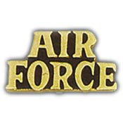 "Pins: USAF - Air Force, SCR AIR FORCE (1-3/8"")"
