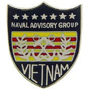 "Pins: Vietnam USN Advisory Group (1"")"