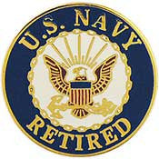 "Pins: USN Logo Retired (15/16"")"