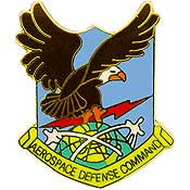 "Pins: USAF - Air Force AEROSPACE DEF. (1"")"