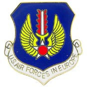 "Pins: USAF - Air Force EUROPE (1"")"