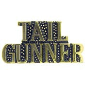"Pins: USAF - Air Force,SCR,TAIL GUNNER (1"")"
