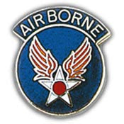 "Pins: USAF - Air Force,ARMY/AIRCORP AAF (W/TAB) (1"")"