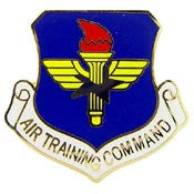 "Pins: USAF - Air Force, TRAINING CMD. (1"")"