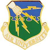 "Pins: USAF - Air Force UNIVERSITY (1"")"