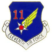 "Pins: USAF - Air Force 011TH, SHIELD (1"")"