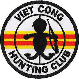 "PATCHES: VIETNAM, CONG HUNT.C (3"")"