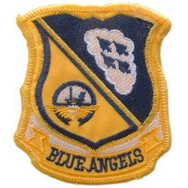 "PATCHES: US NAVY BLUE ANGELS (3-3/8"")"