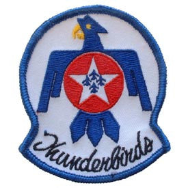 "PATCHES: USAF, THUNDERBIRDS (3-3/8"")"