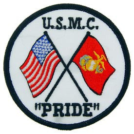 "PATCHES: USMC PRIDE (3"")"