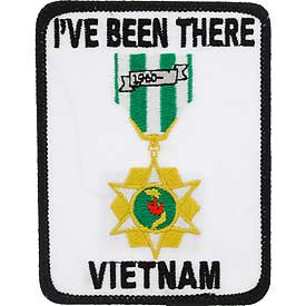 "PATCHES: VIETNAM, I'VE BEEN (3-1/2"")"