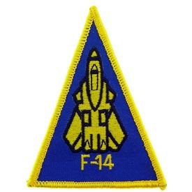 "PATCHES: US NAVY F-14 (3-5/8"")"