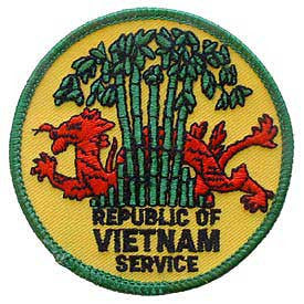 "PATCHES: VIETNAM, REP.OF SVC (3"")"