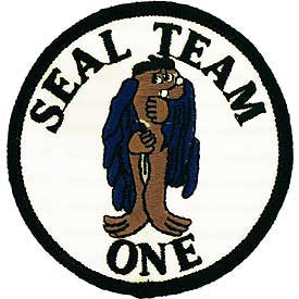 "PATCHES: US NAVY SEAL TEAM, 01 (3"")"