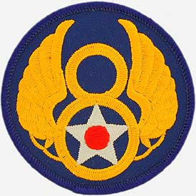"PATCHES: USAF 008TH (3"")"