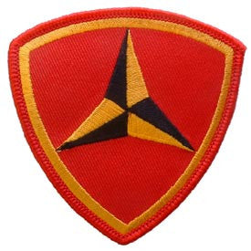 "PATCHES: USMC 03RD DIV. (3"")"