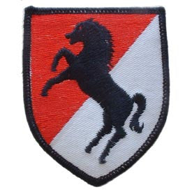 "Patches: Army 11th Cav. Div. (3"")"