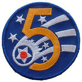 "PATCHES: USAF 005TH (3"")"