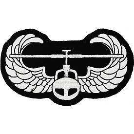 "PATCHES: ARMY AIR ASSLT. WING (4-1/8"")"