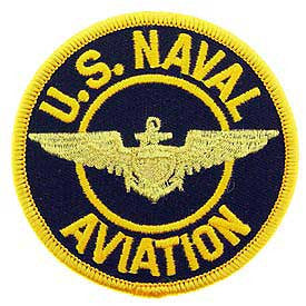 "PATCHES: US NAVY AVIATION (3"")"