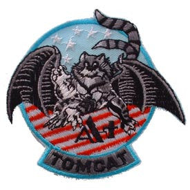 "PATCHES: US NAVY TOMCAT A+ (3-1/2"")"