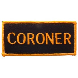 "PATCHES: ARMY TAB CORONER (4"")"