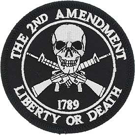 "Patches 2nd Amendment 1789 (3-1/16"")"