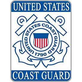"PATCHES: USCG LOGO, RECT. (3-1/2"")"