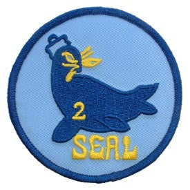 "PATCHES: US NAVY SEAL TEAM, 02 (3"")"