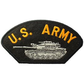 "PATCHES: ARMY HAT TANK (3""X5-1/4"")"