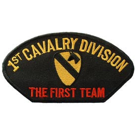 "PATCHES: ARMY HAT 001ST CAV (3"" X 5-1/4"")"