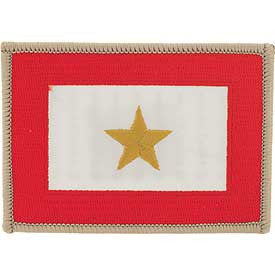 "PATCHES: FAMILY MEMBERS GOLD STAR HONOR (2-1/2""X3-1/2"")"