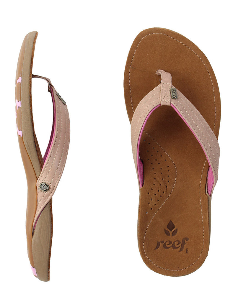 Reef Women's Miss J-Bay Tan Lavendar