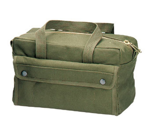 Rothco Bags: Tool Bag with Brass Zipper Olive Drab