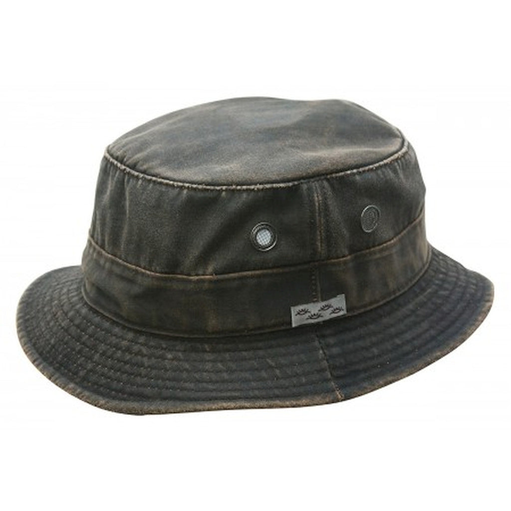Conner: Weathered Cotton Bucket Hat