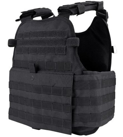 Condor Operator Plate Carrier Black Mopc-002 Molle Pals