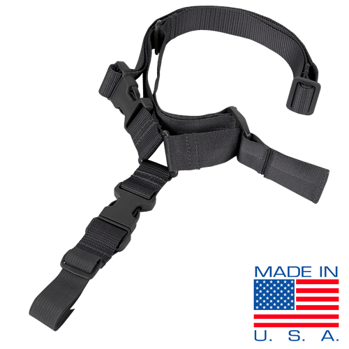 Condor Sling: Quick One Point Sling - Black